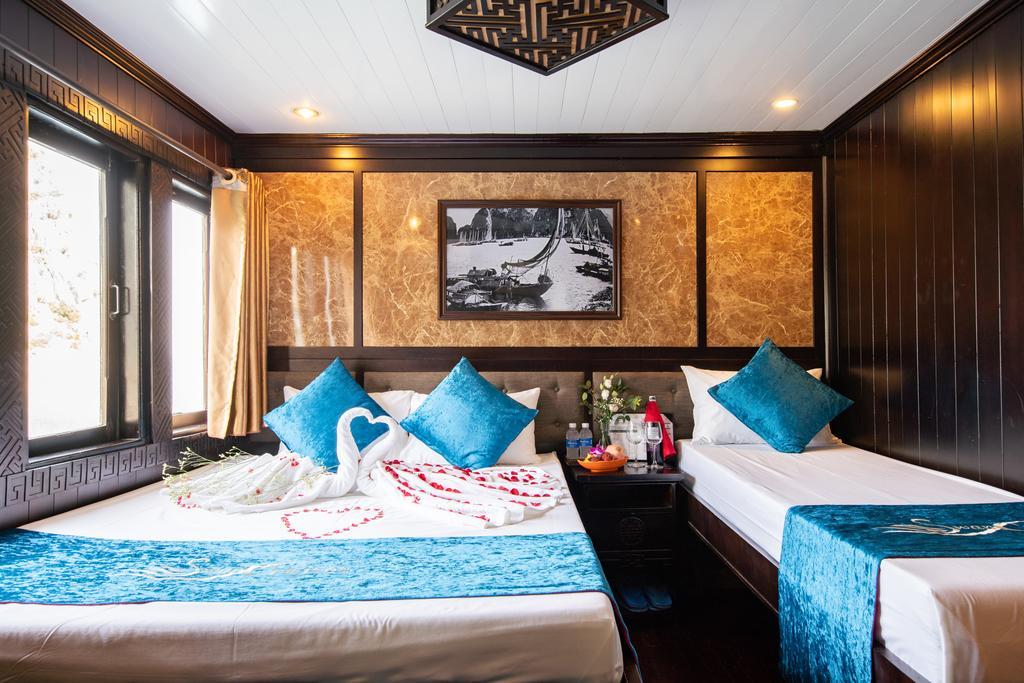 Bai Tu Long Bay Swan cruise 2 days Deluxe Cabin
