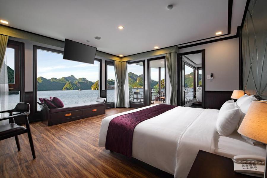 Peony cruise 2 Days 1 Night Premium Deluxe With Balcony