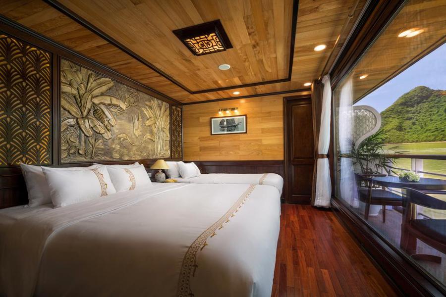 Perla Dawn Cruise 2 Days 1 Night Junior suite with balcony