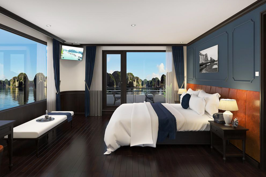 Rosy Cruise 2 Days 1 Night Triple Junior Balcony Suite