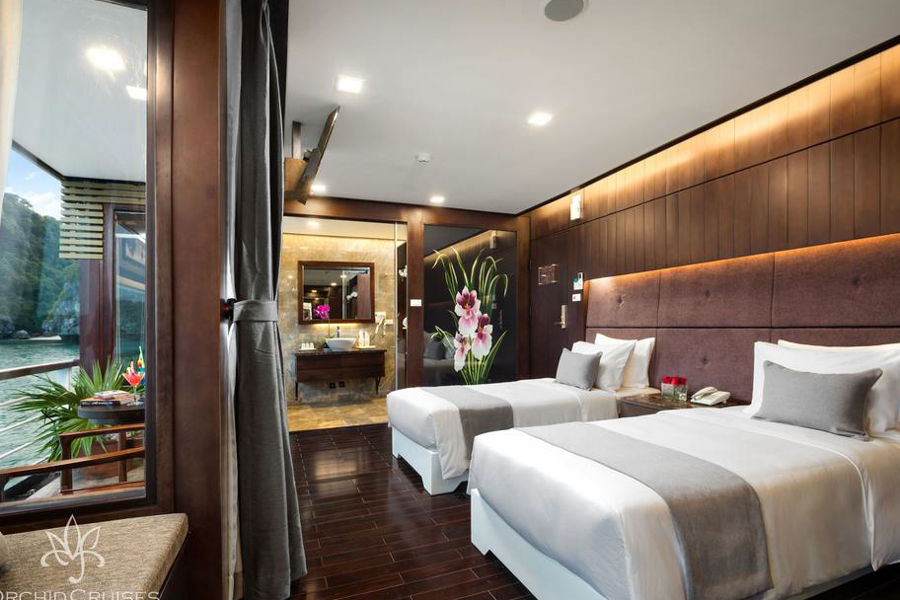 Orchid Cruise 2 Days 1 Night Family Suite Balcony
