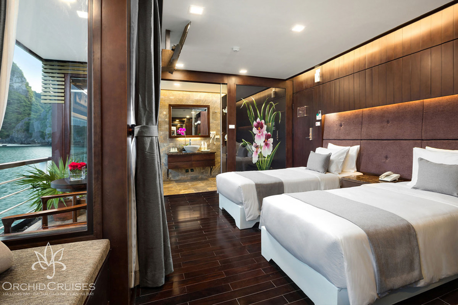 Orchid Cruise 3 Days 2 Nights Family Suite Balcony