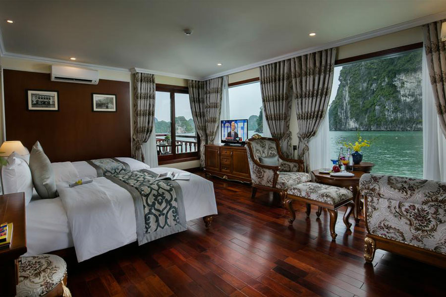 Emperor Cruises Halong 3 Days 2 Nights State Suite