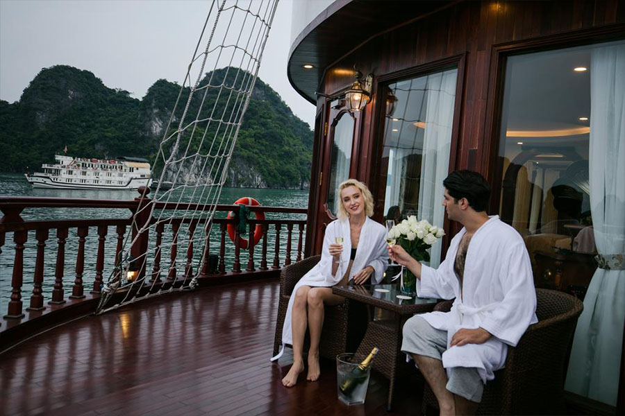 Emperor Cruises Halong 3 Days 2 Nights Royal Suite