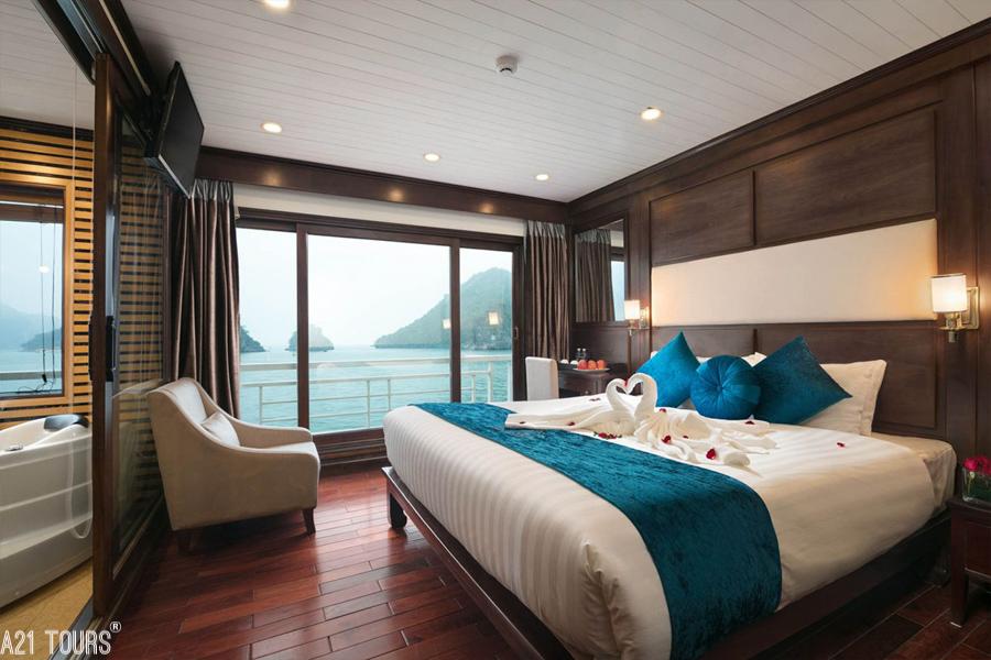 Alisa Crusie 3 Days 2 Nights Triple Junior Suite Ocean Views