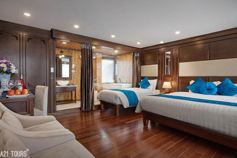 Alisa Cruise 2 Days 1 Nights Triple Junior Suite Ocean Views