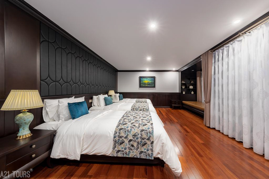 Sealife Legend Cruise Halong Bay 2 Days 1 Night Triple Legend Suite