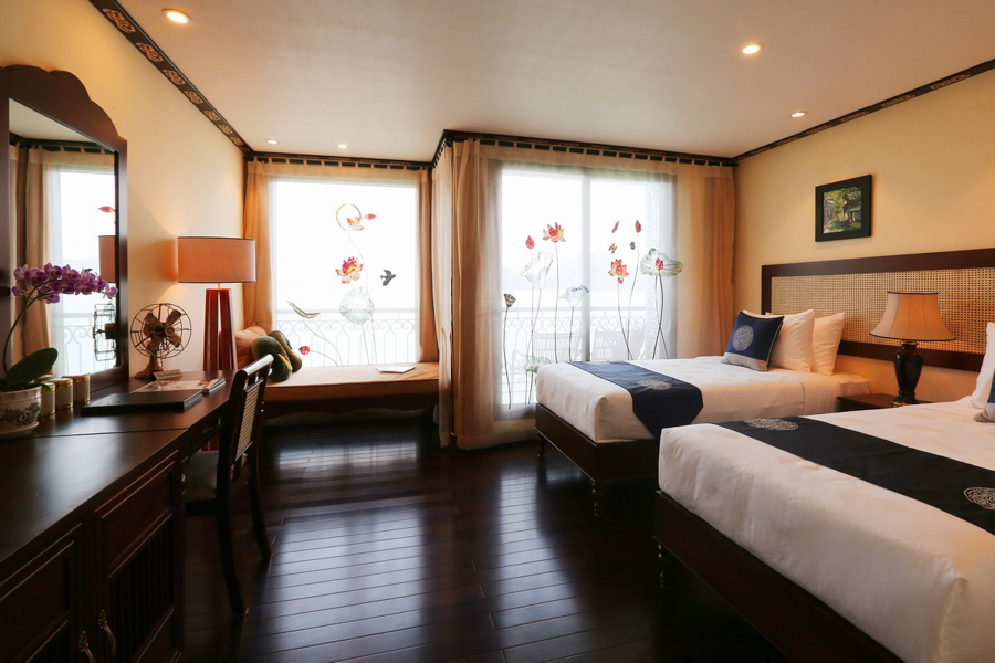 Indochine Cruise 2 Days 1 Night Family Connecting