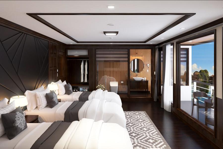 La Regina Legend Cruise 2 Days 1 Night Queen Triple Suite