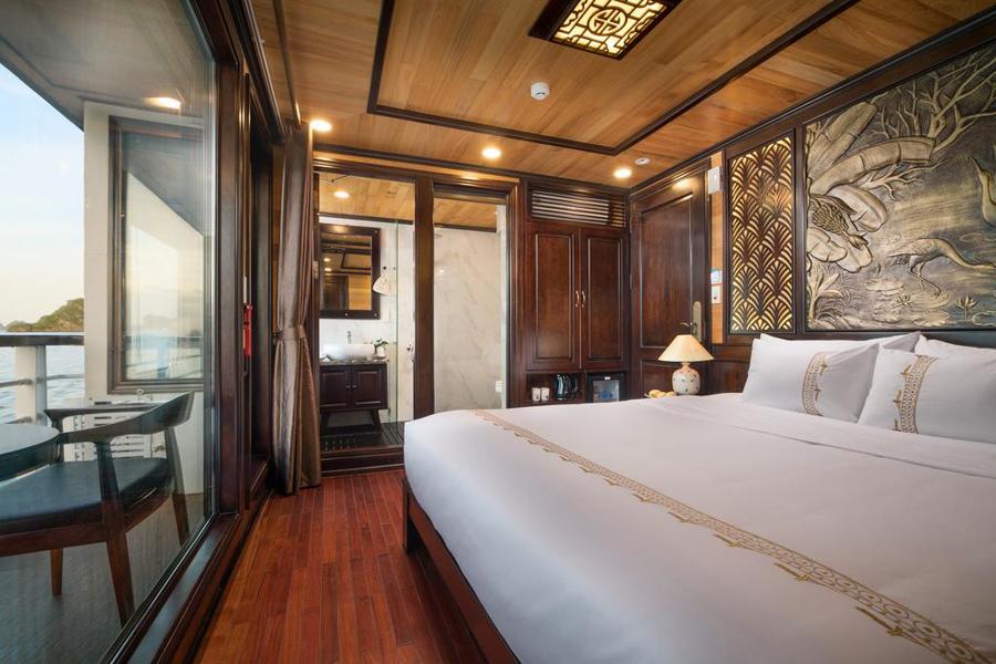 Perla Dawn Cruise 2 Days 1 Night Senior Suite Balcony