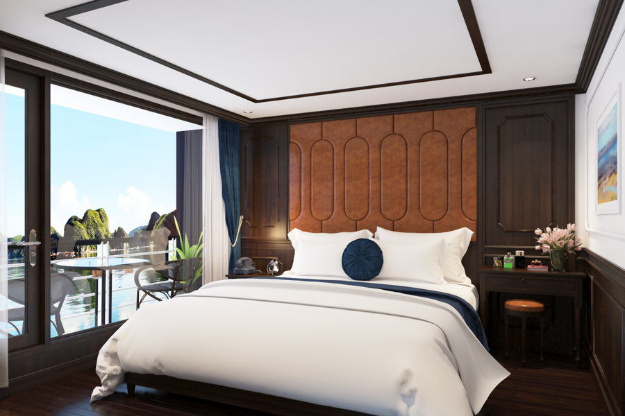 Rosy Cruise 2 Days 1 Night Rosy Terrace Suite