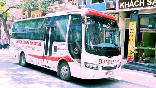 Hanoi to Cat Ba daily busp