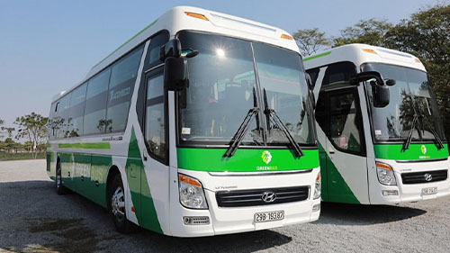 Green Bus Sapa to Hanoip