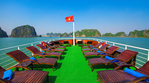La Regina Luxury Cruise Lan Ha Bay