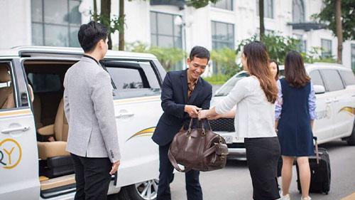 Halong to Hanoi by Luxury Minivan