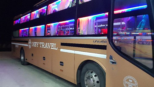 Ninh Binh to Hue sleeping bus p