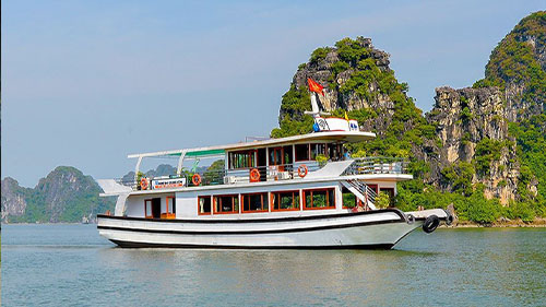 Halong bay day cruise Express way transfer