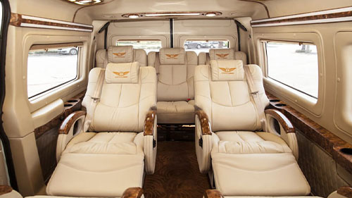 Halong to Sapa luxury limousine van