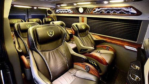 Sapa to Ninh Binh luxury limousine vanp
