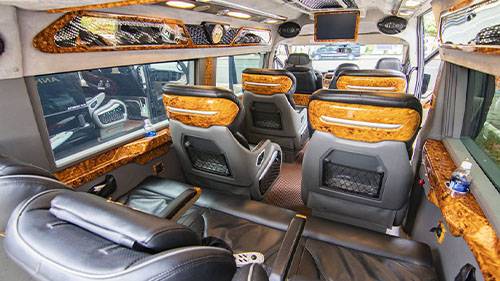 Ninh Binh to Sapa luxury limousine vanp