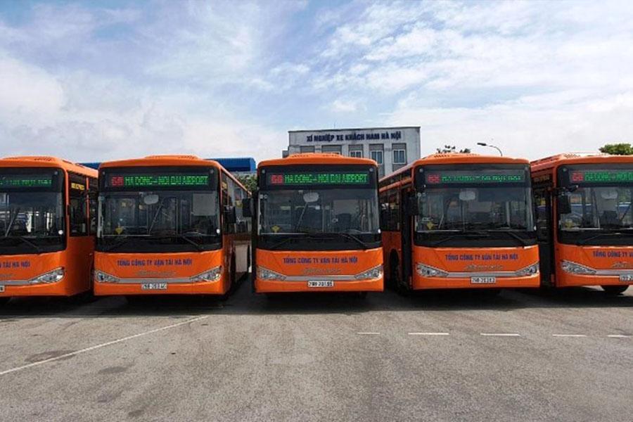Bus from Hanoi Airport to Hanoi City Centre
