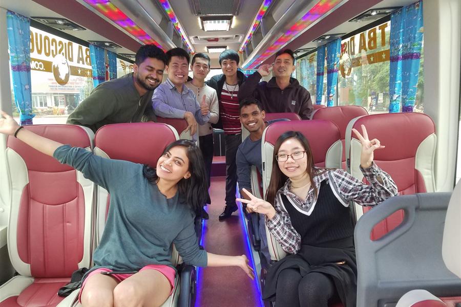 Cat Ba Ninh Binh bus