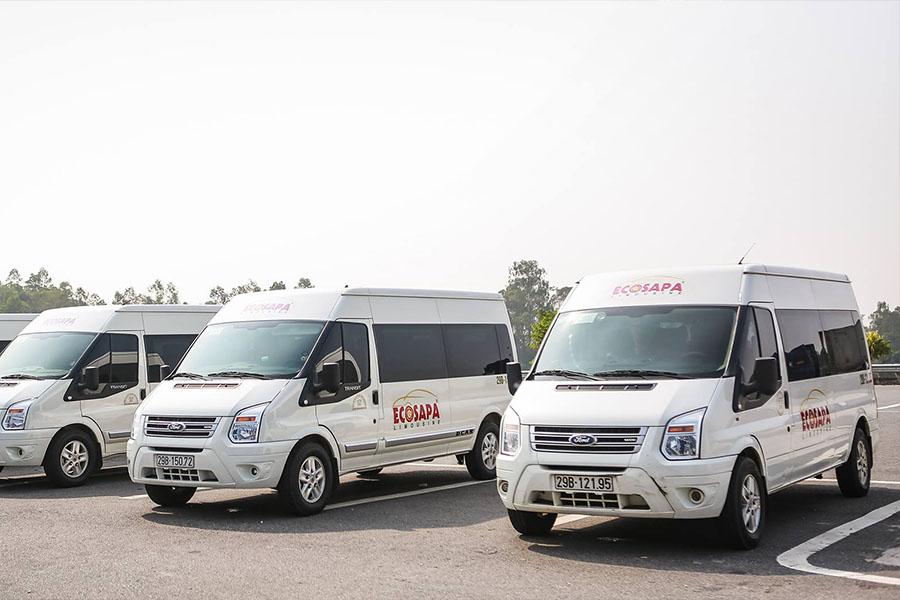 Hanoi Sapa by limousine van