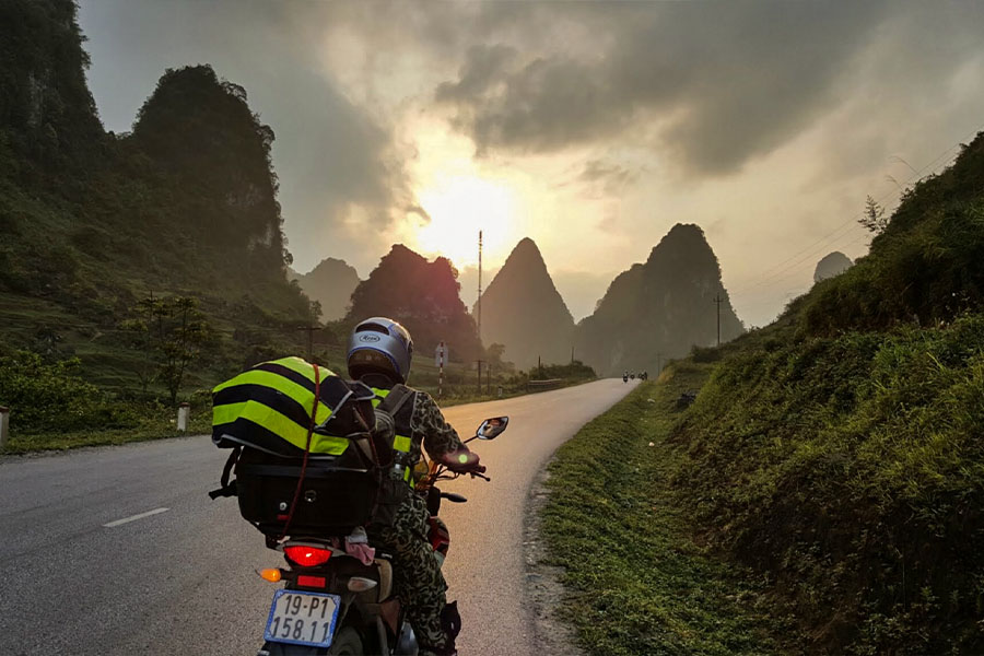 Motorbike from Hanoi to Ha Giang