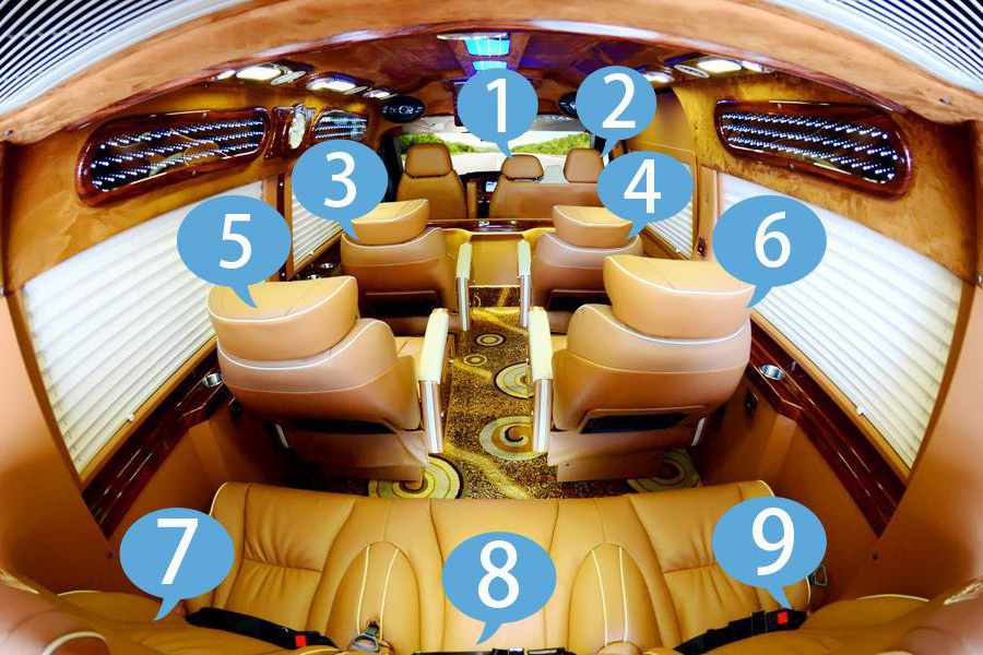 Eco Sapa limousine van