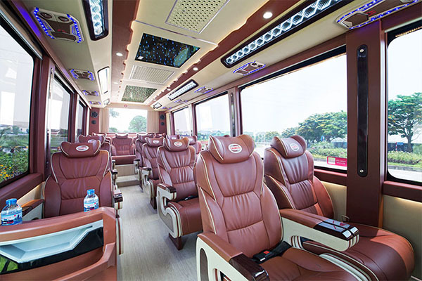 Halong Bay cruise tours limousine van